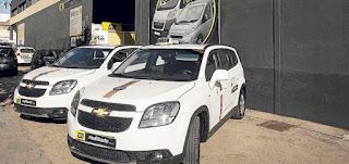 Los taxistas tendrán un coche de sustitución gratis hasta febrero