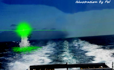 Green Orb Emerges From Ocean | MY UFO EXPERIENCE