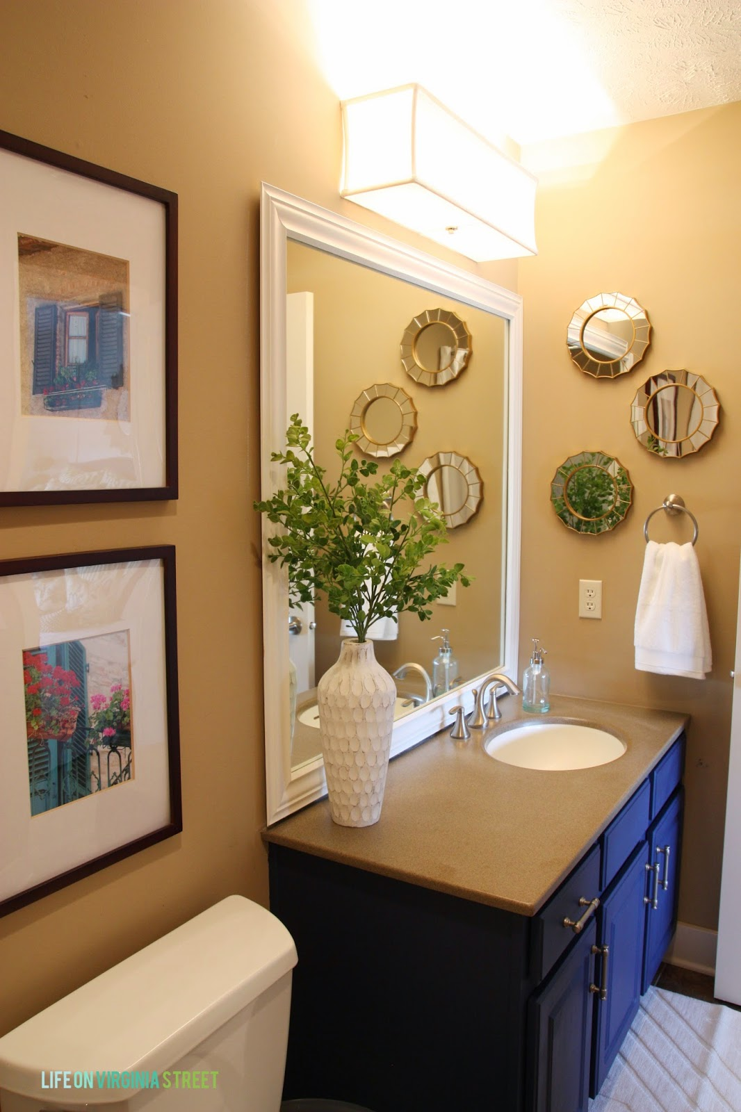 guest bathroom makeover before and after life on