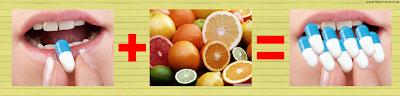 葡萄柚與藥物混用,會對人體造成危害