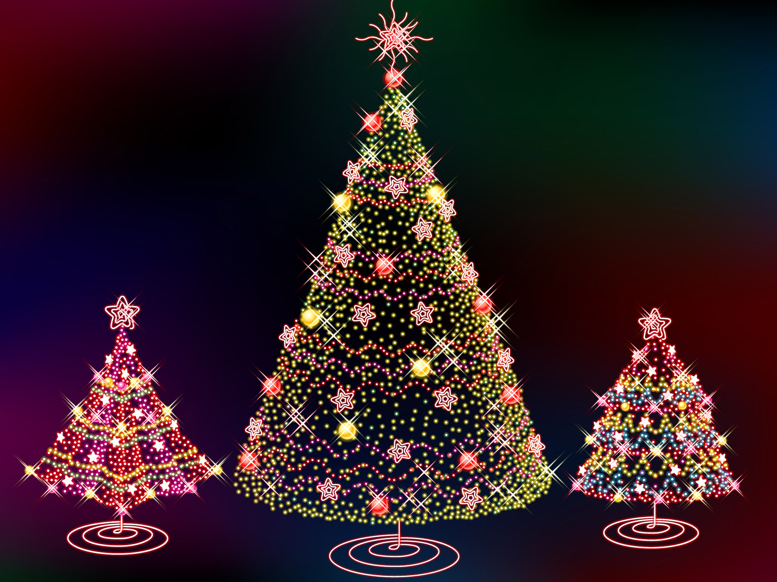 christmas tree wallpaper computer wallpaper