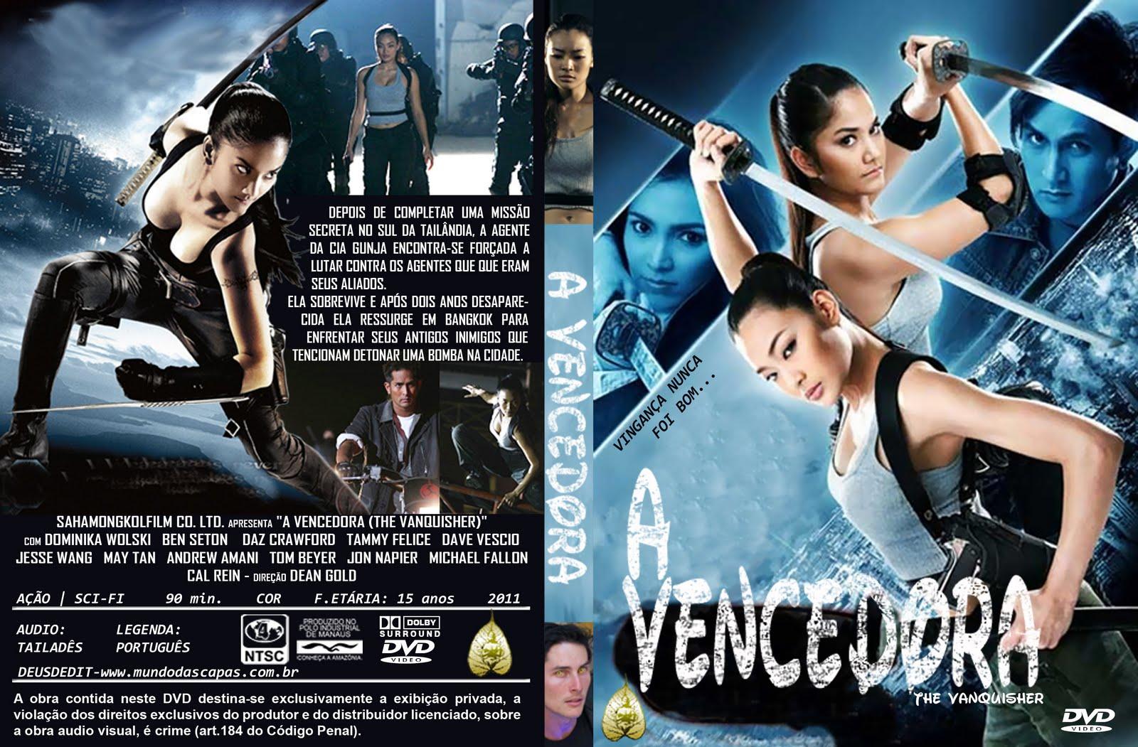 CAPA DO FILME A VENCEDORA