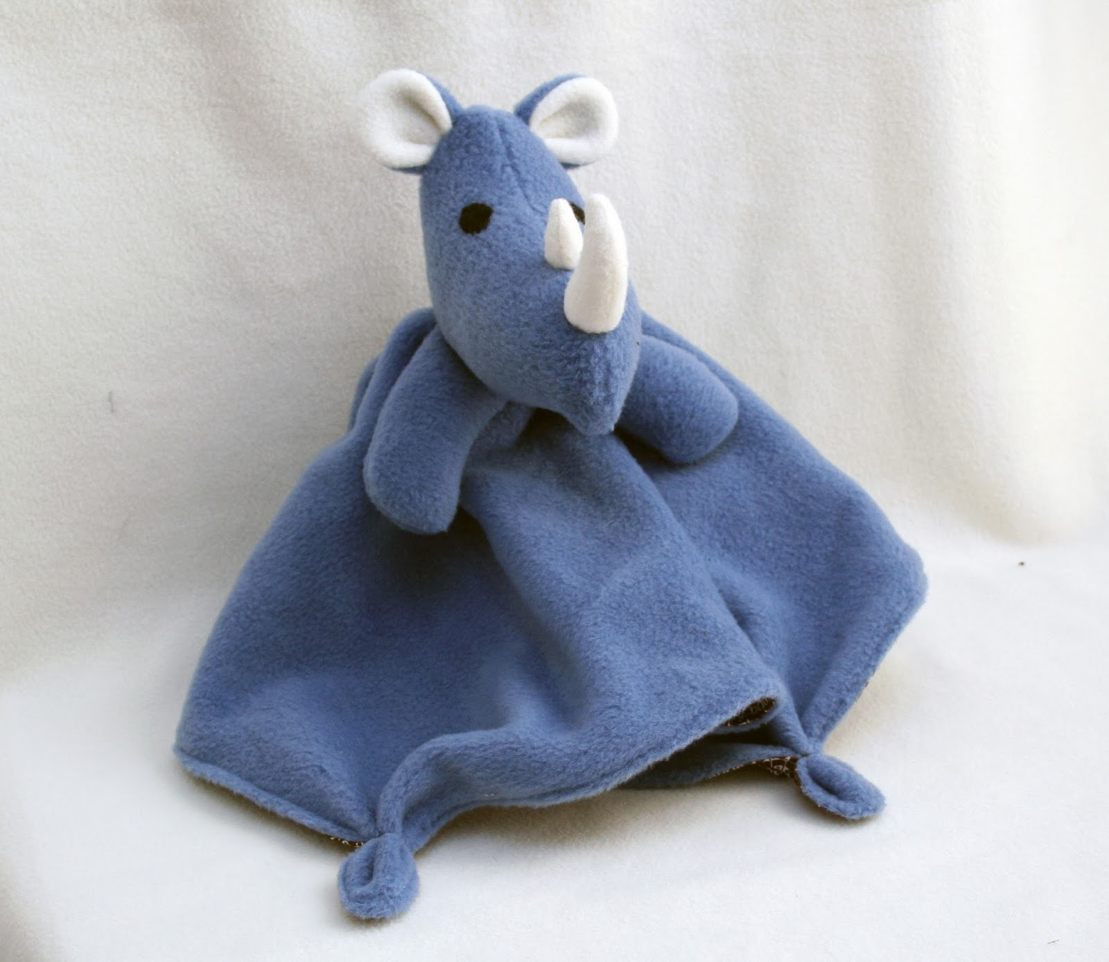 Rhino Lovey PDF Pattern Giveaway @ Tangible Pursuits
