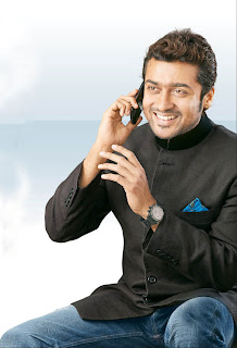 Surya in Aircel new ad