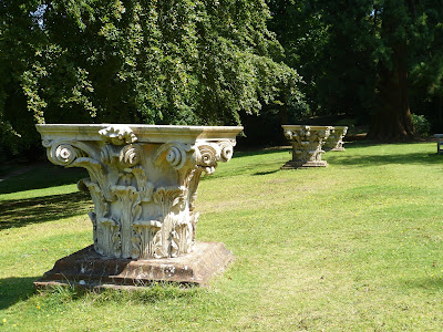 Capitals in the gardens at Clandon Park (July 2014) © Andrew Knowles