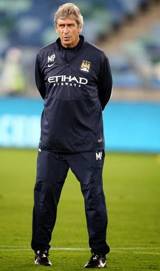Manuel Pellegrini Manchester City Manager 2013