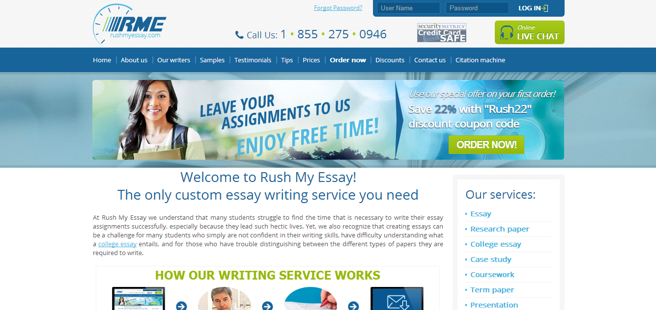 Essay writing service us top