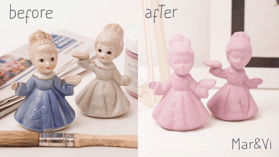 Come rinnovare vecchie statuine di ceramica