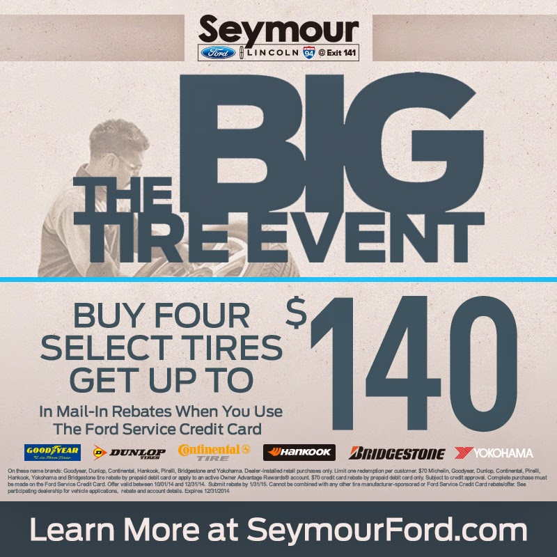 The BIG Tire Event at Seymour Ford Lincoln