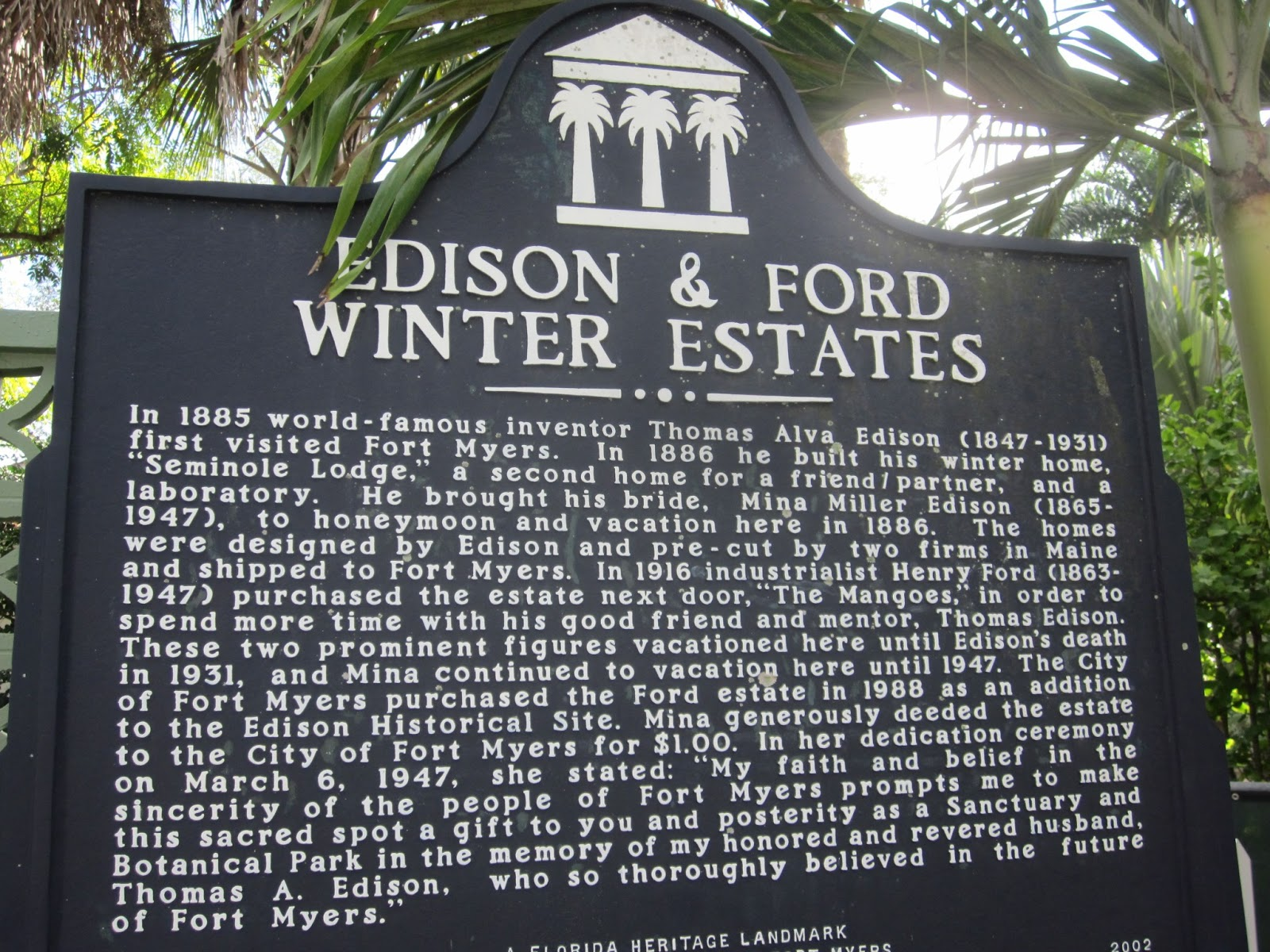 golden gang edison ford winter estates. Cars Review. Best American Auto & Cars Review
