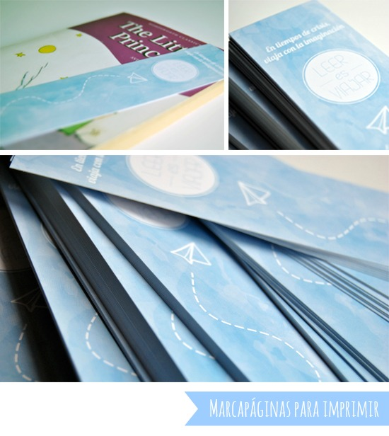 Marcapaginas para imprimir - Día del libro