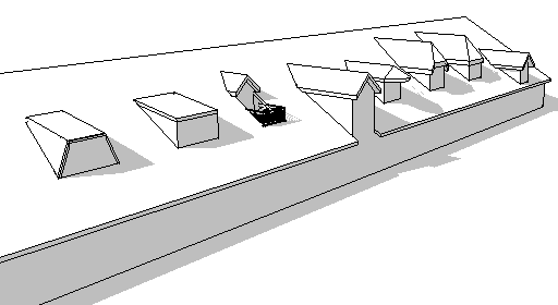 Revit m mo revit 2013 toiture lucarnes de toit for Type de lucarne de toit