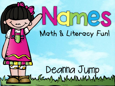 https://www.teacherspayteachers.com/Product/Names-Unit-Literacy-and-Math-Fun-with-Names-88399