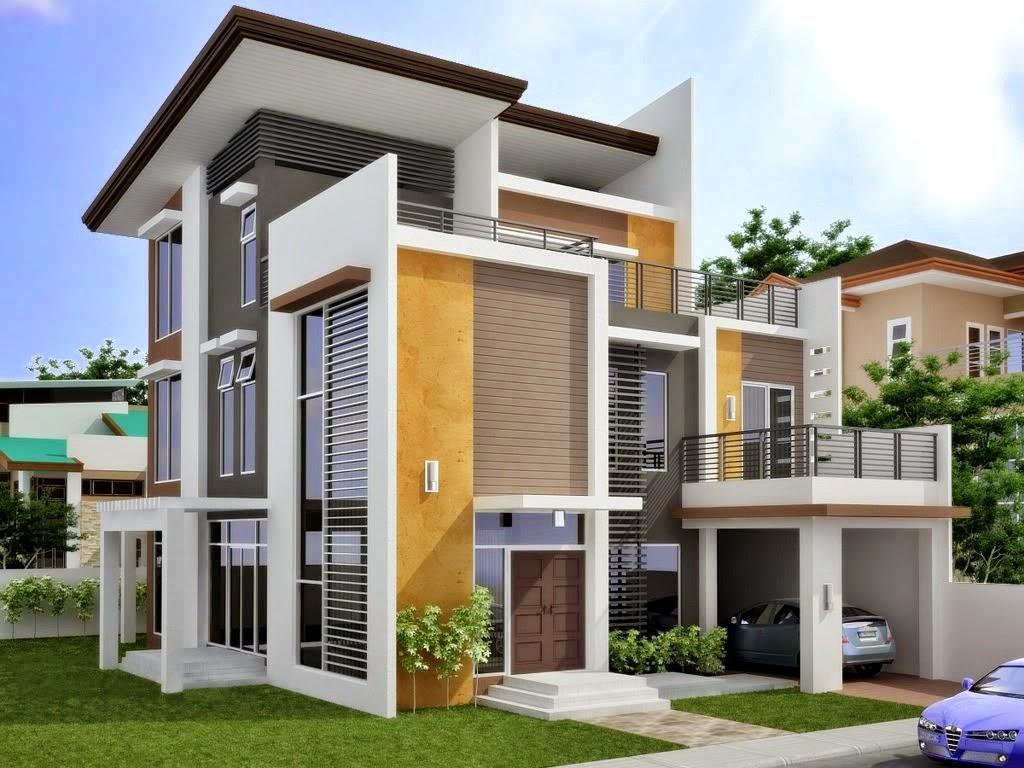 Gambar Desain Rumah Minimalis Modern Type 54 2 Lantai Rumah Impian