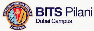 VACANCY OPEN AT BITS PILANI, DUBAI IN DECEMBER 2013