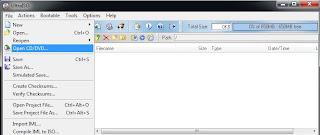 Membuat File ISO CD/ DVD Image 1