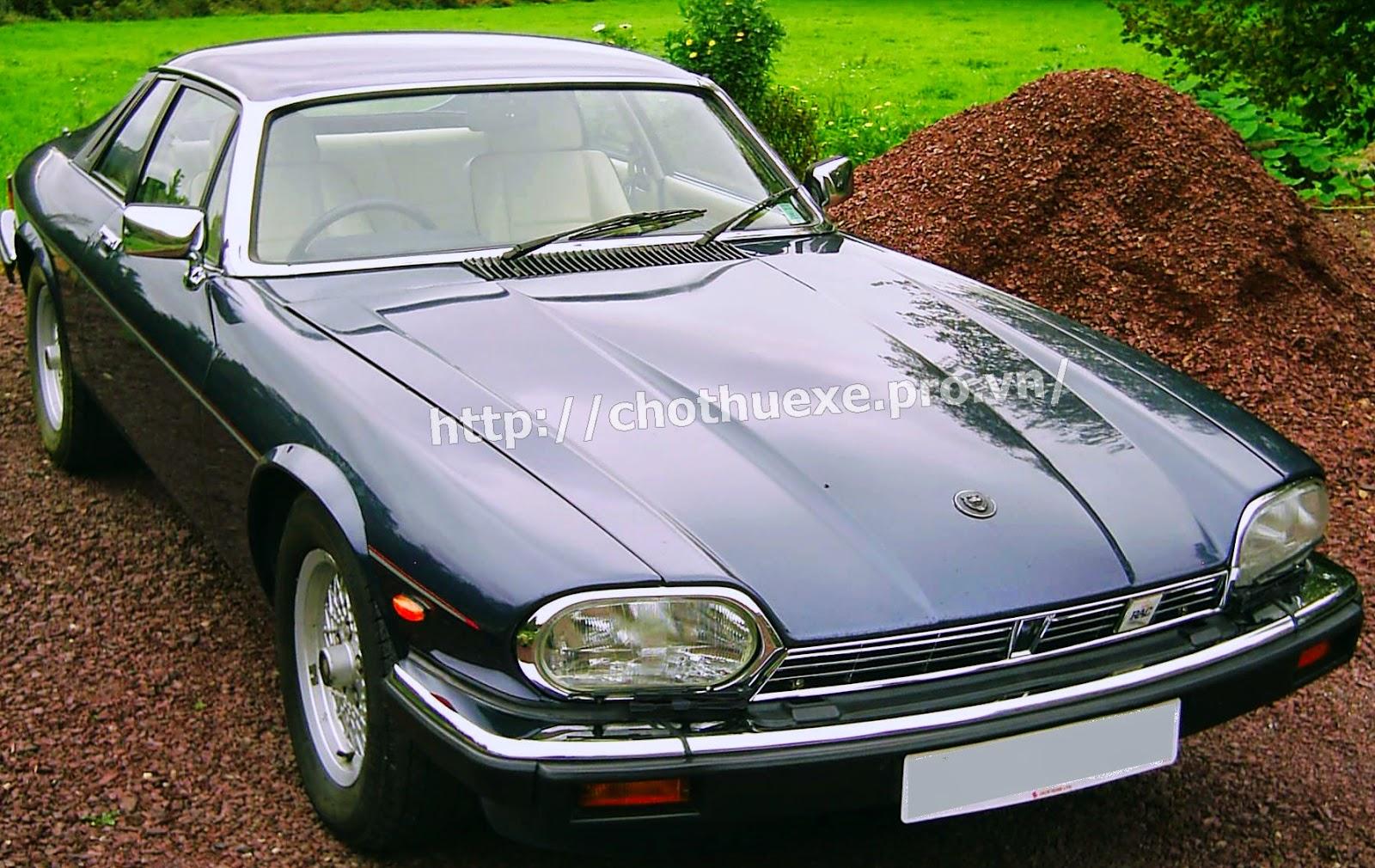 Cho thuê xe Jaguar XJ siêu sang 1