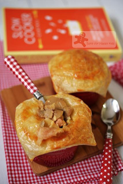 fuss free easy chicken mushroom pies