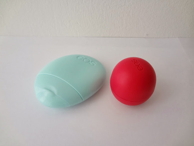 EOS lip balm sphere and hand lotion review by GlamorousGia.