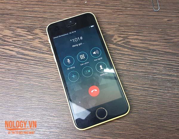 Điện thoại Iphone 5c Lock âm thầm rút tiền người dùng