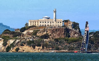 sailing fans, Alcatraz, The Rock, Escape from Alcatraz, triathlon