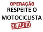 RESPEITE O MOTOCICLISTA
