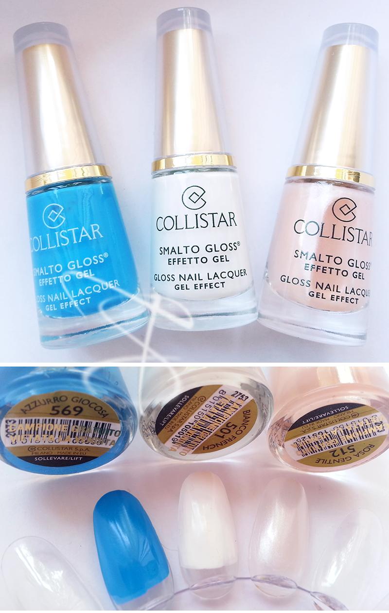 Collistar Smalto Gloss Effetto Gel Swatch Swatches