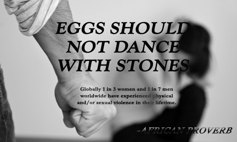 Eggs should not dance with stones