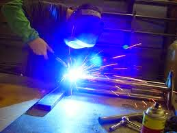 The Work Process of MIG Welding