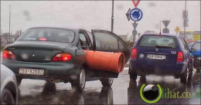 Bisa Menabrak Mobil
