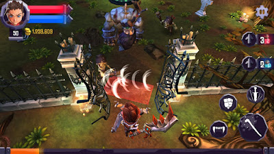 Heroes Curse 2.0.5 MOD APK+DATA-screenshot-2