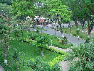 Hoang Van Thu Park. Ho Chi Minh (Vietnã)