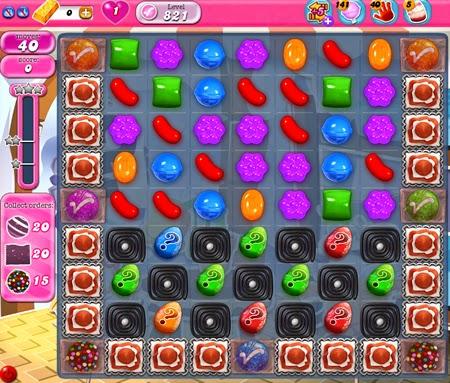 Candy Crush Saga 821