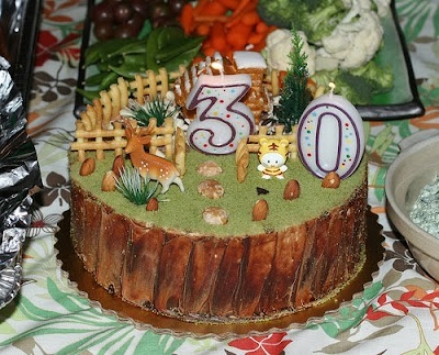 Funny 30th Birthday Cake Decorations