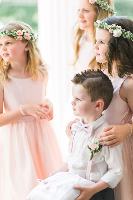 les fleurs : hair wreaths : flowers girls : ring bearer