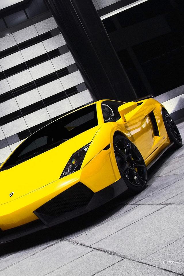Iphone+4s+Gallardo+Yellow En Güzel İphone 4s Resimleri