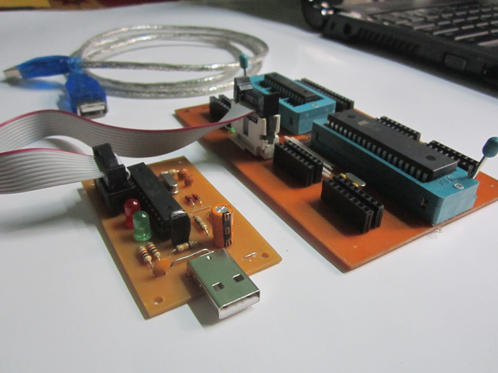 Horizon Of Electronics Usbsap Usbasp Usb Programmer For Atmel Avr Controllers So Hear First I Would Like To Introduce How Build Your Own Microcontrollers