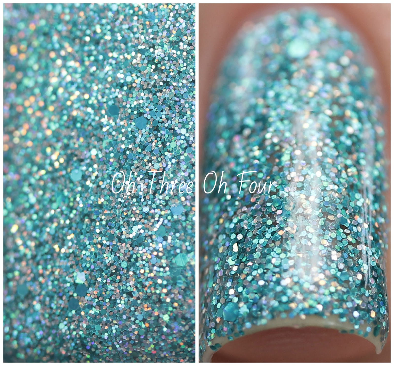 Rain City Lacquer Enchanted Waters Swatch