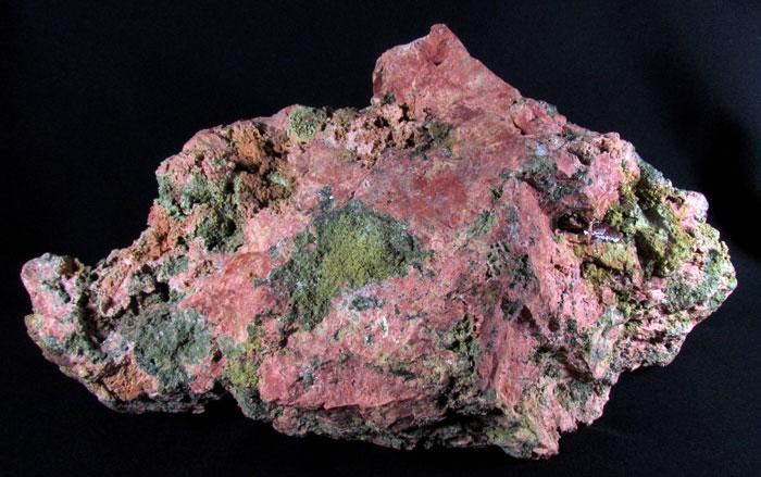 gros quartz orthose et pecmatique