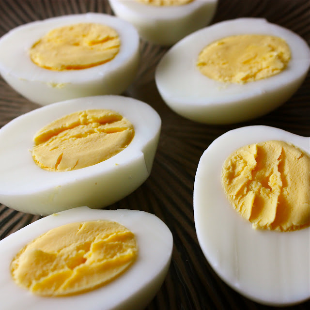 how to cook deviled eggs in the oven