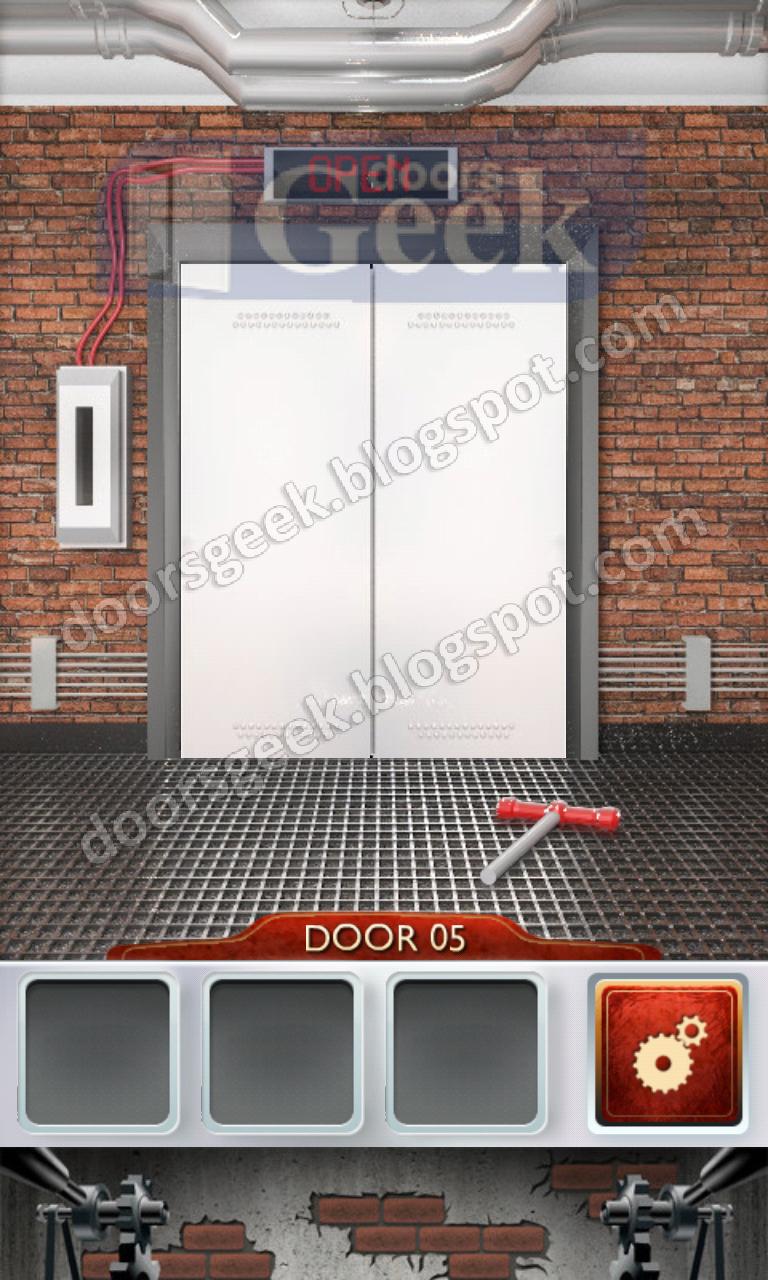 100 doors 2 level 5 doors geek for 100 doors door 6