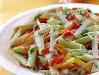 Macarrão com Mix de Legumes (vegana)