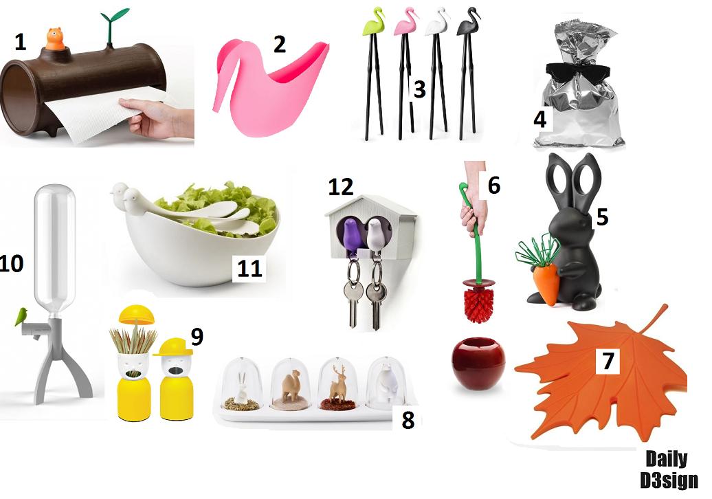 przydatne ciekawe gadzety do domu kuchni qualy design