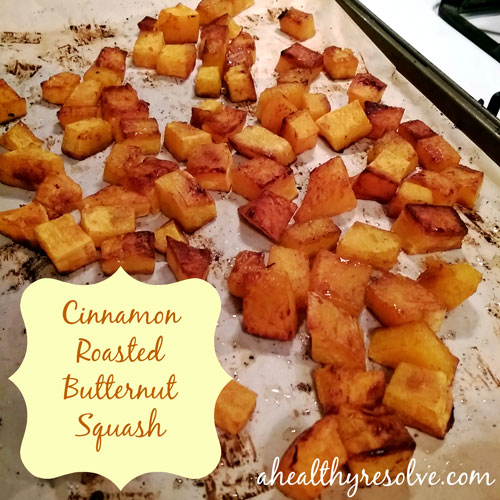A delicious pairing of cinnamon and syrup make this squash irresistible!