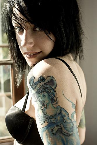 tattoo girls. hot tattoo girl. tattoos girls