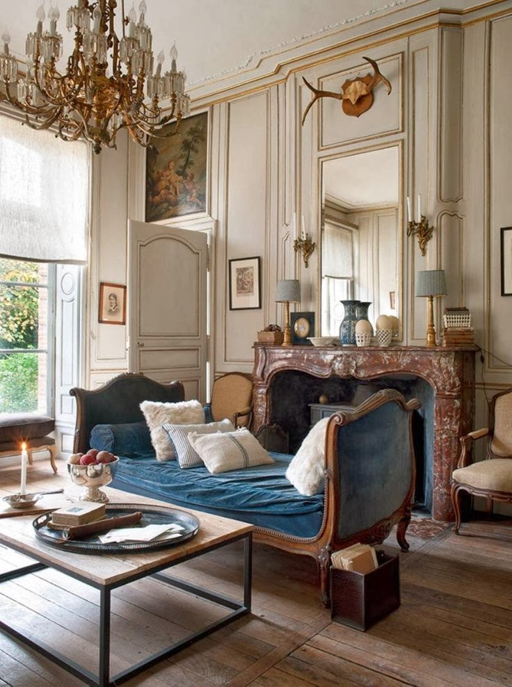 The new victorian ruralist french salon envy - French decorating ideas living room ...