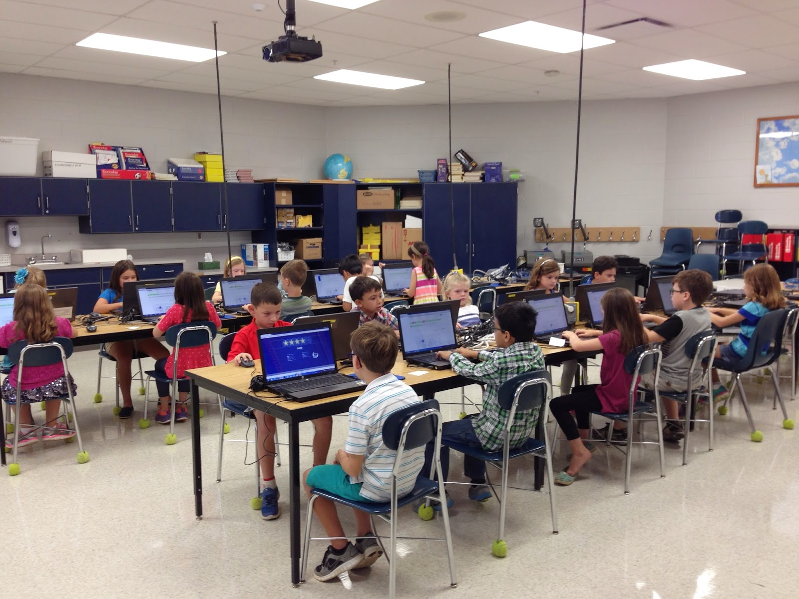 Pictures of 2nd grade classrooms Assumption Catholic School - Jacksonville, FL