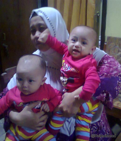 Keponakannya Ahmad Mu'azim Abidin