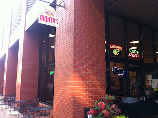 Monty's Sandwich Company St. Louis Missouri BBQ Barbecue Bar-B-Q Bar-B-Que Barbeque