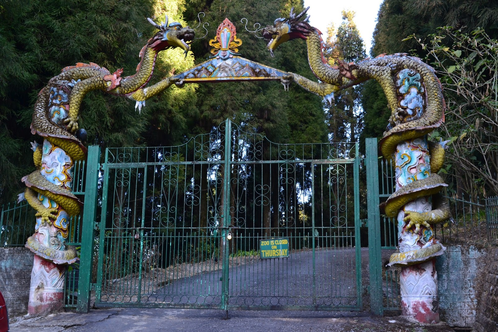 Entrance of Sikkim Himalayan Zoological Park